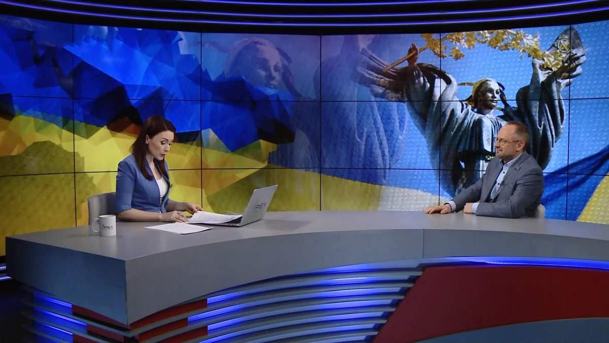 Роман Безсмертний у прямому ефірі 24 каналу