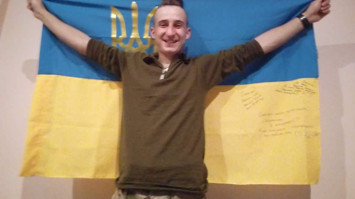 На Донбасі загинув юний український військовий