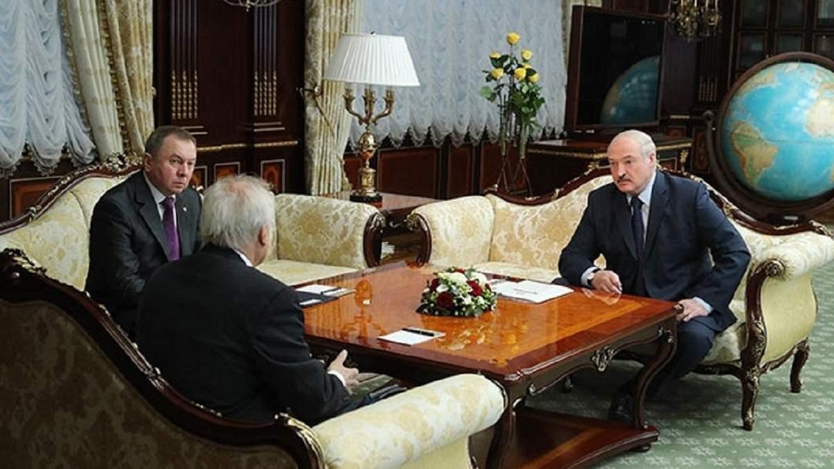 Зустріч Лукашенка і Сайдіка в Мінську