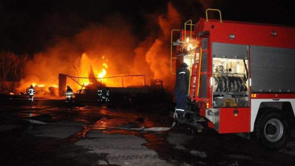 Пожежа у Кропивницькому