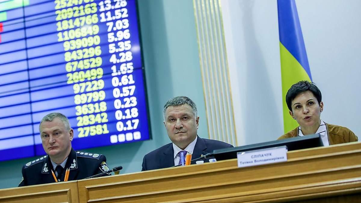 У МВС помітили спроби отримати доступ до системи ЦВК із Росії