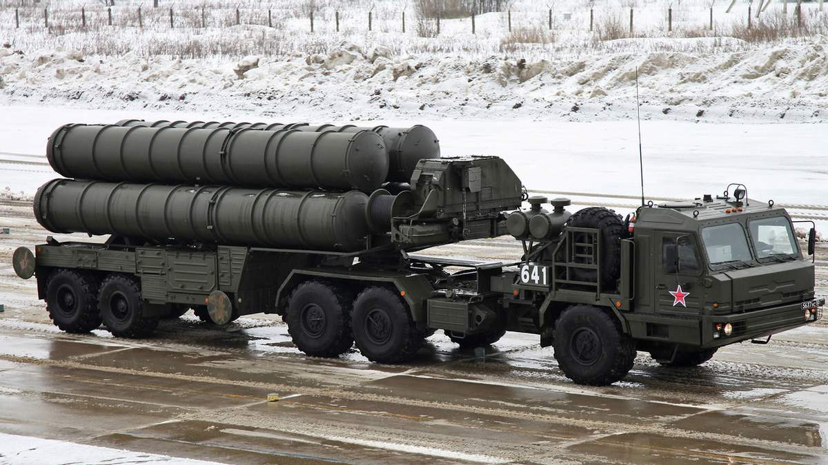 Російська система зенітно-ракетної установки С-400