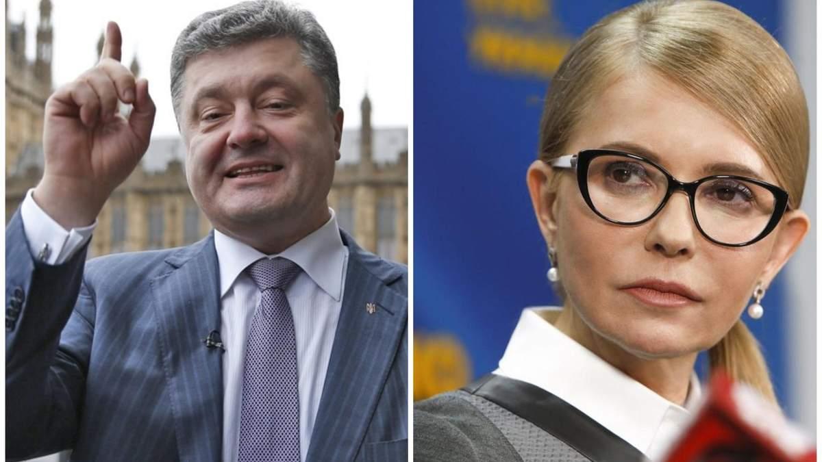 Порошенко прокоментував третє місце Тимошенко на президентських виборах
