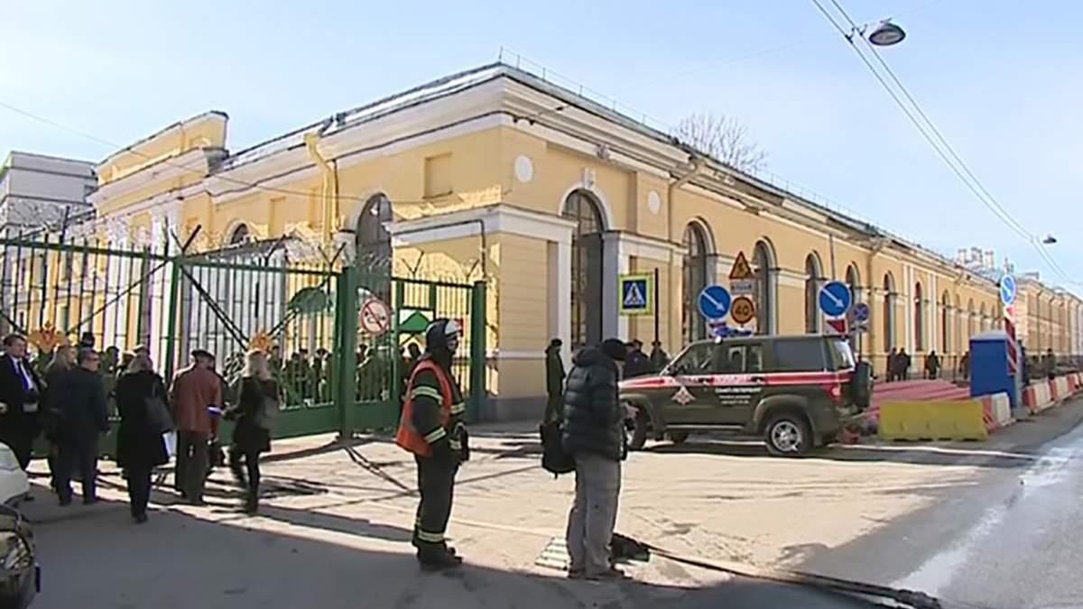 Вибух прогримів на території Військово-космічної академії у Санкт-Петербурзі