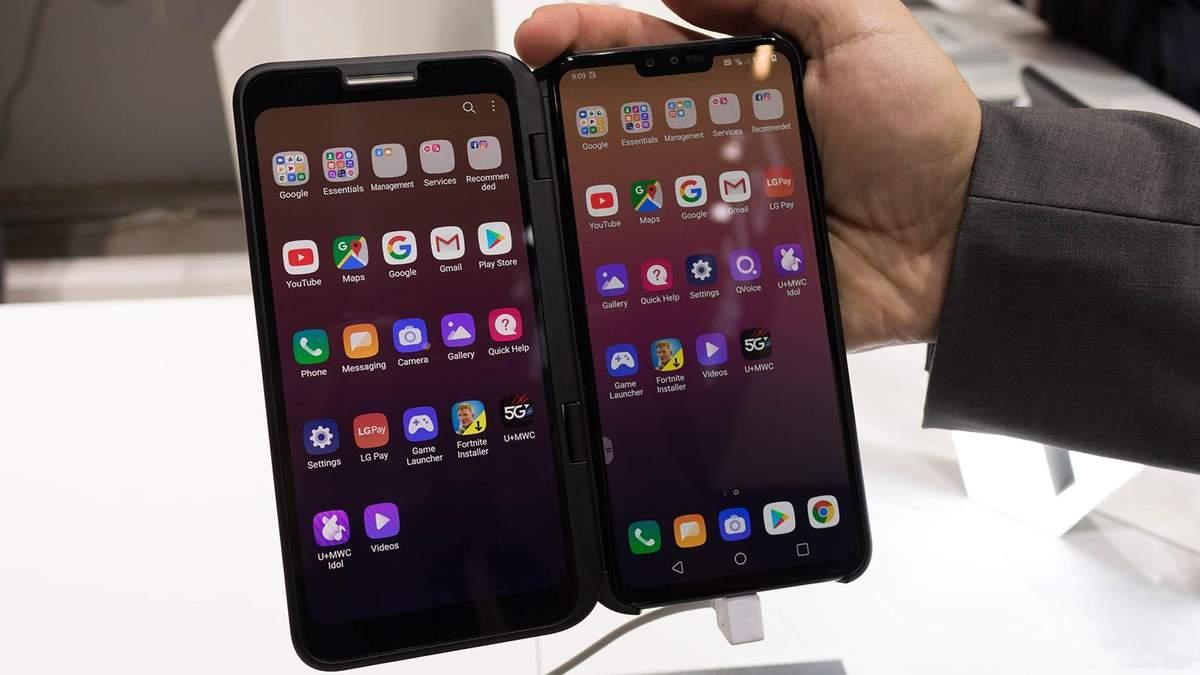 LG V50 ThinQ 5G: дате старта продаж и цена