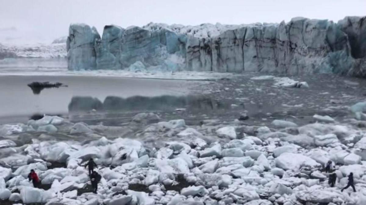 Обрушення льодовика