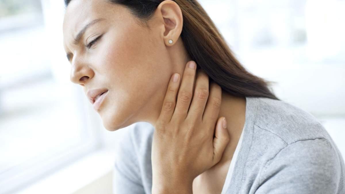 Чому болить горло – причини і види болю в горлі