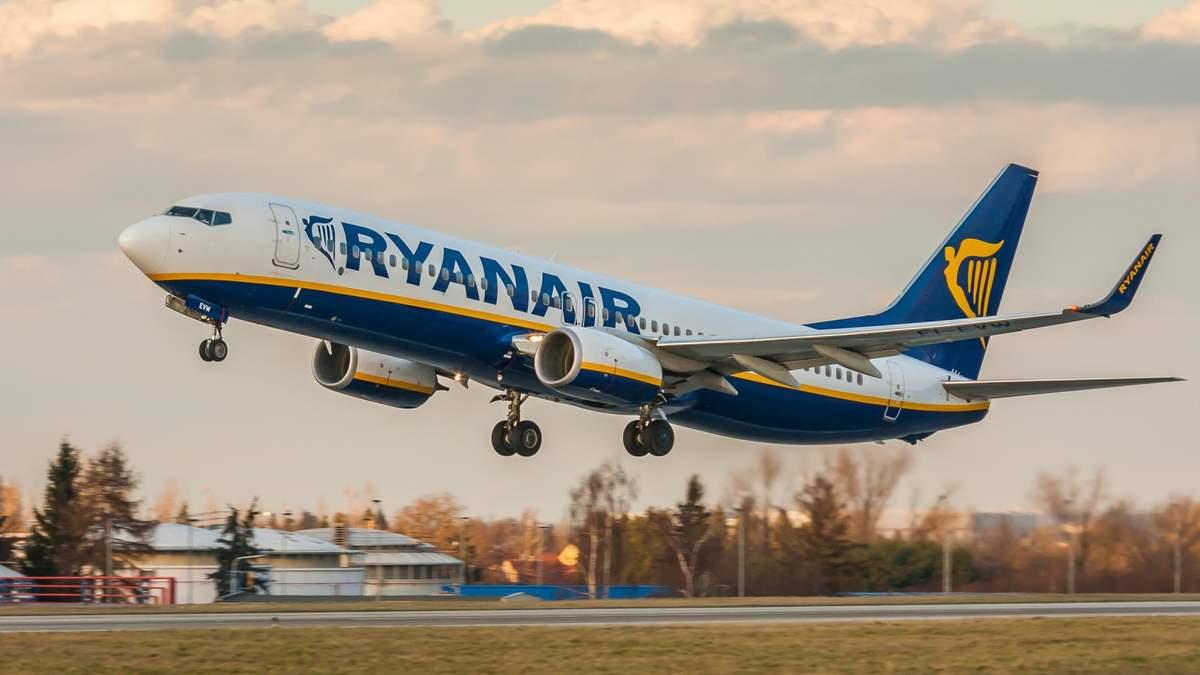 У Ryanair анонсували нові міжнародні рейси з двох українських міст