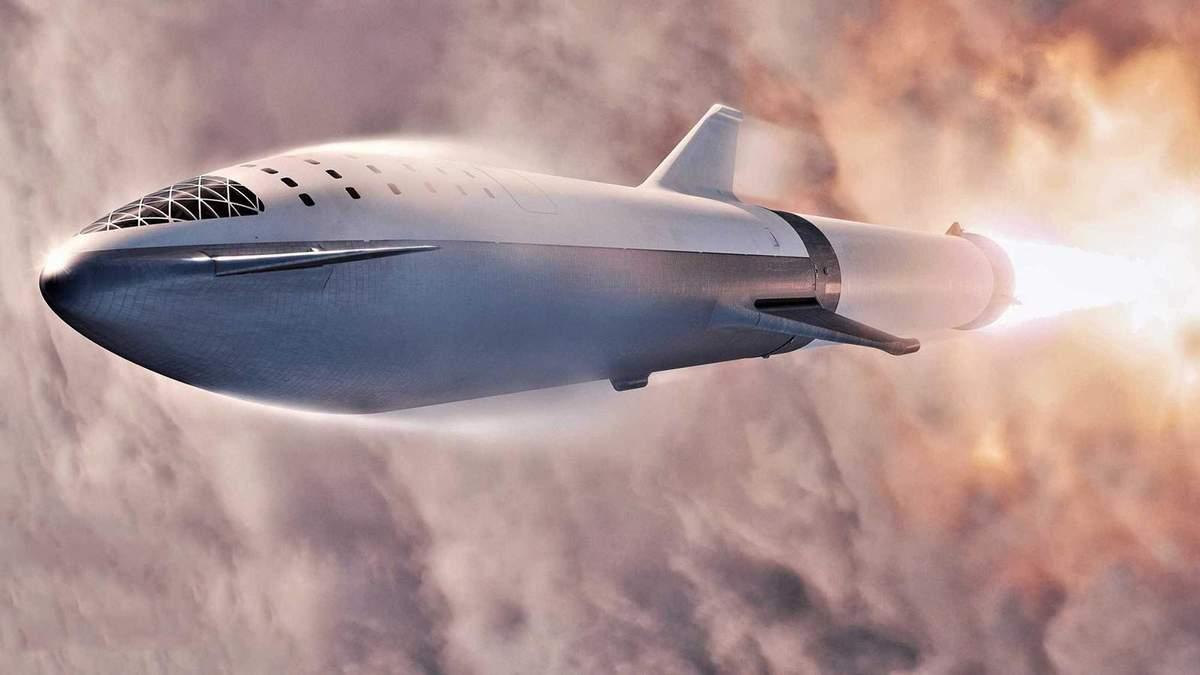 Концепт ракеты SpaceX Starship