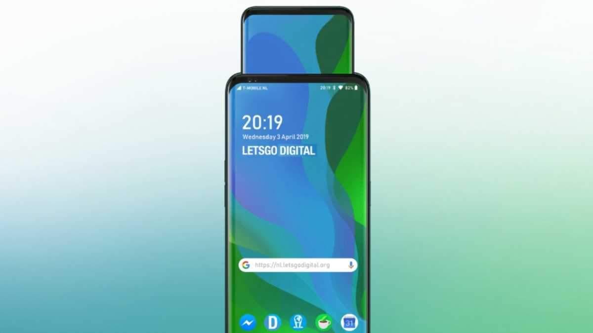 Oppo запатентовала очень странный смартфон