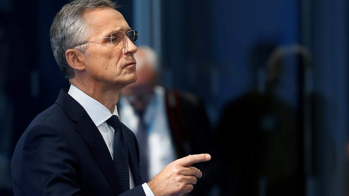 Росія не може вказувати, – Столтенберг про наміри НАТО щодо України та Чорного моря