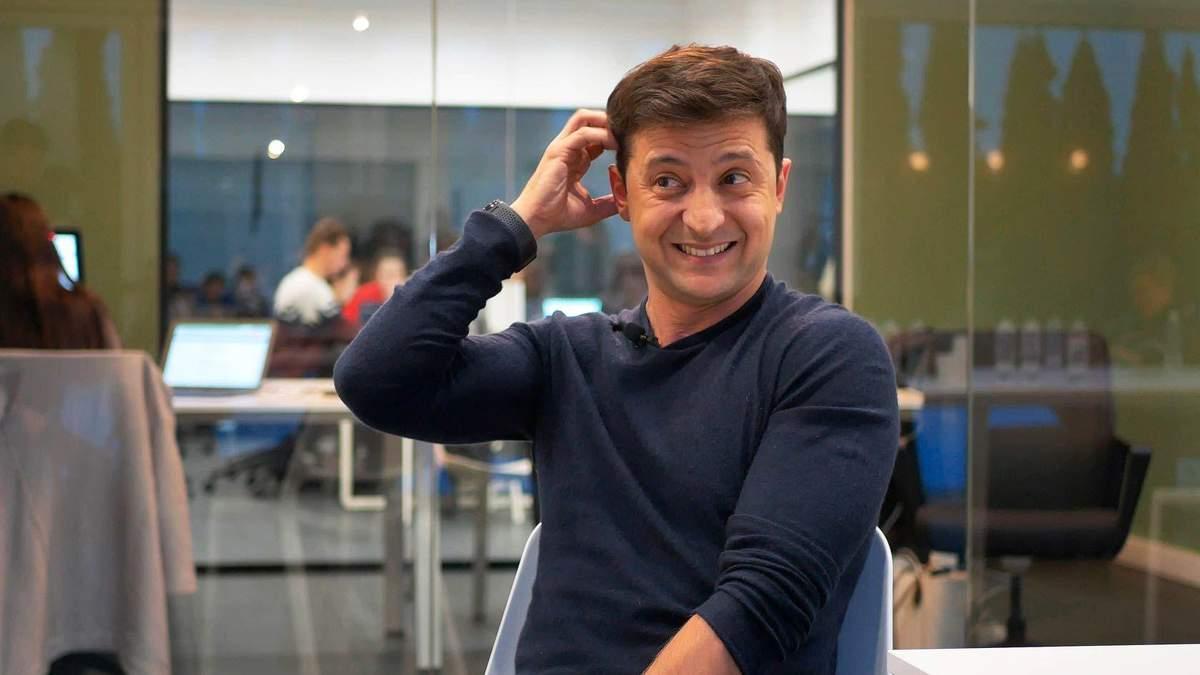 """Зеленский объяснил, почему не сдал анализы на """"Олимпийском"""" вместе с Порошенко"""