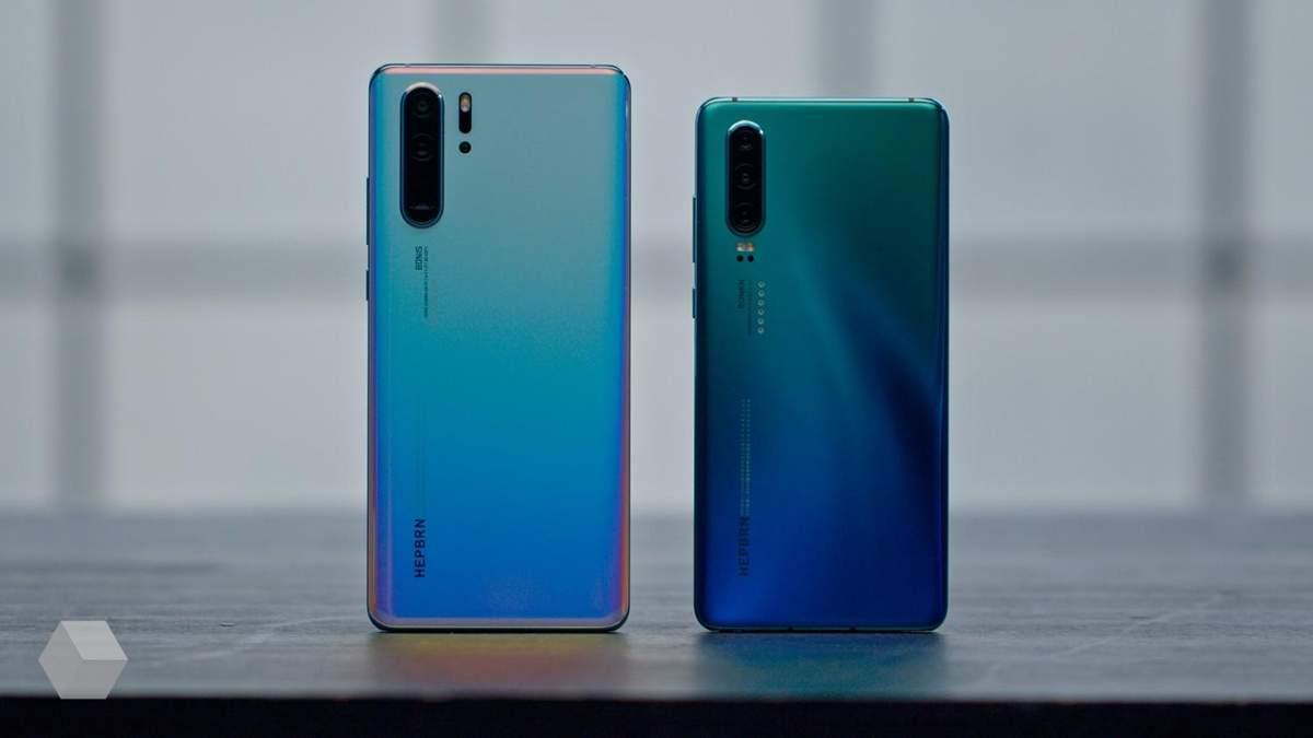 Huawei P30 Pro та P30: ціна в Україні