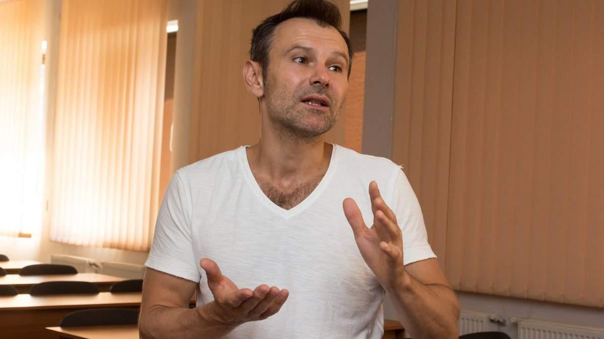 Вакарчук обратился к Зеленскому и Порошенко по поводу дебатов: Требую содержания