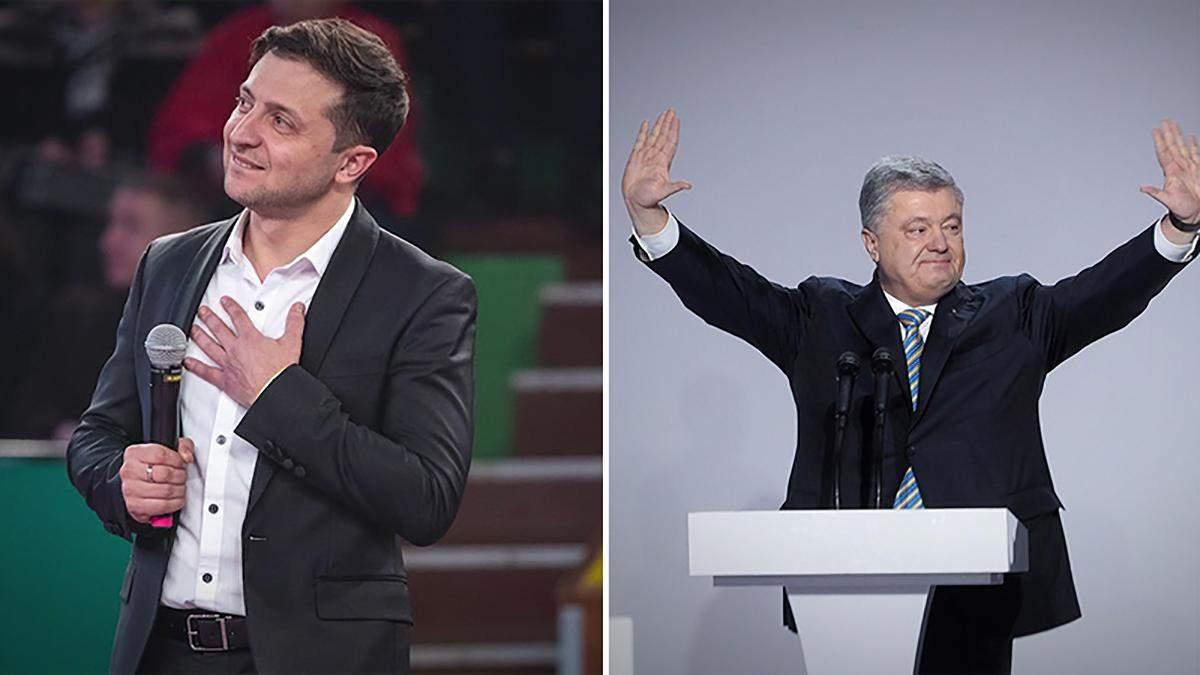 В ЦИК напомнили, где должны дебатировать Зеленский и Порошенко