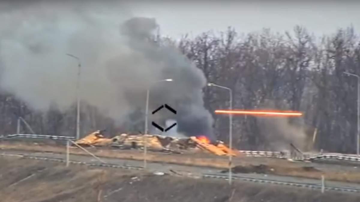 Горело целый день: в сети появилось красноречивое видео уничтожения бойцами ВСУ позиции врага