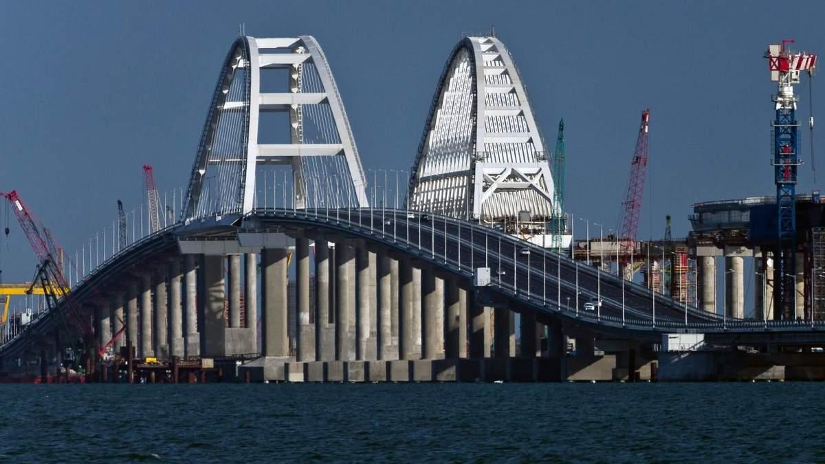 Масштабну проблему Кримського мосту показали на фото