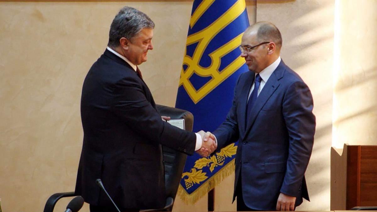 Порошенко відсторонив голову Одеської ОДА