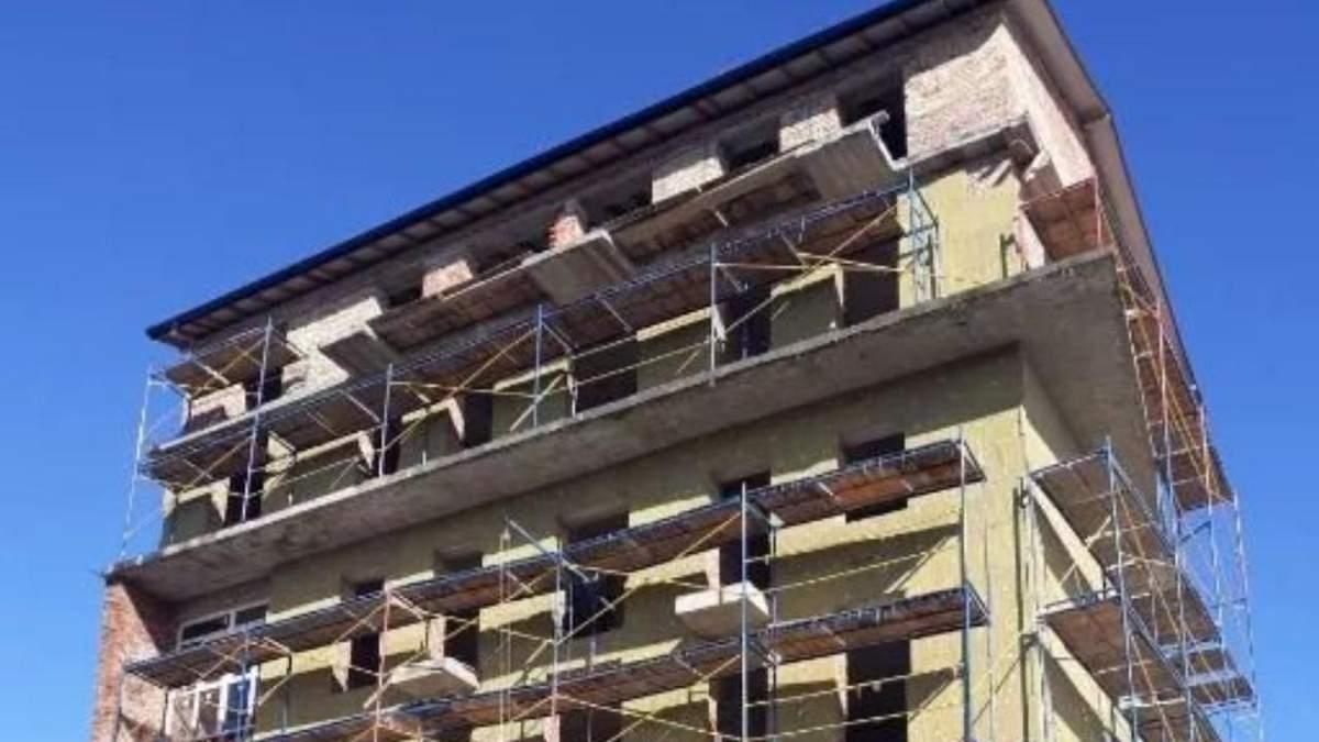 Во Львове могут снести еще одну многоэтажку