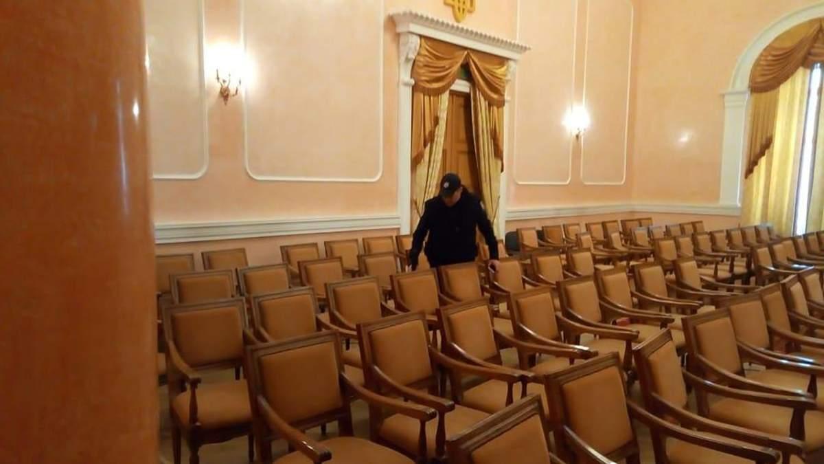 В Одесі анонім повідомив поліцію про мінування мерії