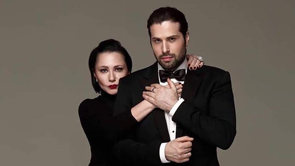 Олена Мозгова і Девід Аксельрод