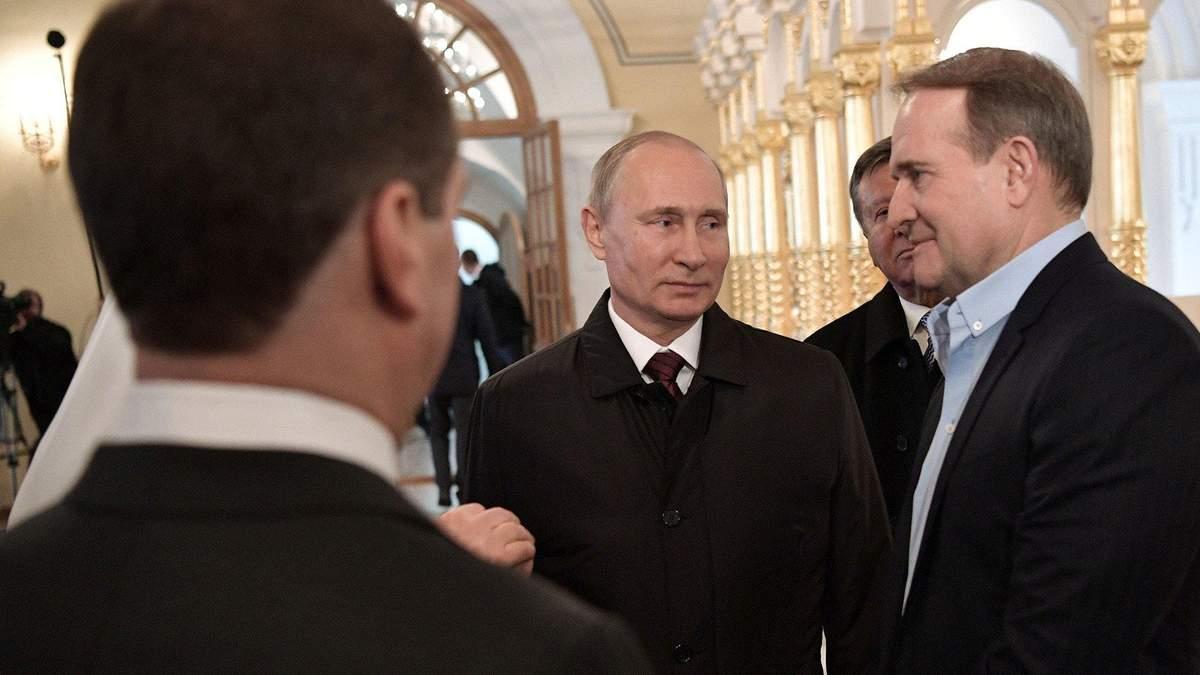 Не нові загрози для української незалежності: про що радяться Медведчук та Путін?