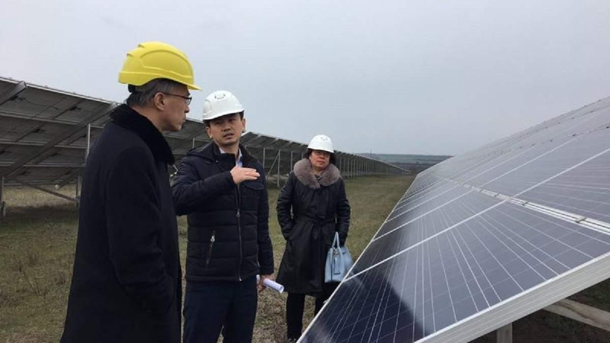 Сун Ліцюнь відвідав сонячну електростанцію CNBM в Миколаївській області