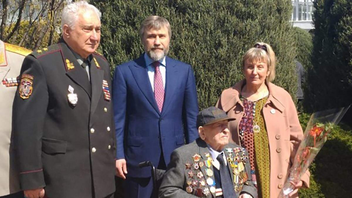 Вадим Новинський: З ветеранів ми повинні брати приклад стійкості, непохитності і мужності