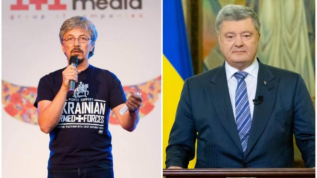 """Телеканал """"1+1"""" планирует подать в суд на Порошенко: президент отреагировал"""