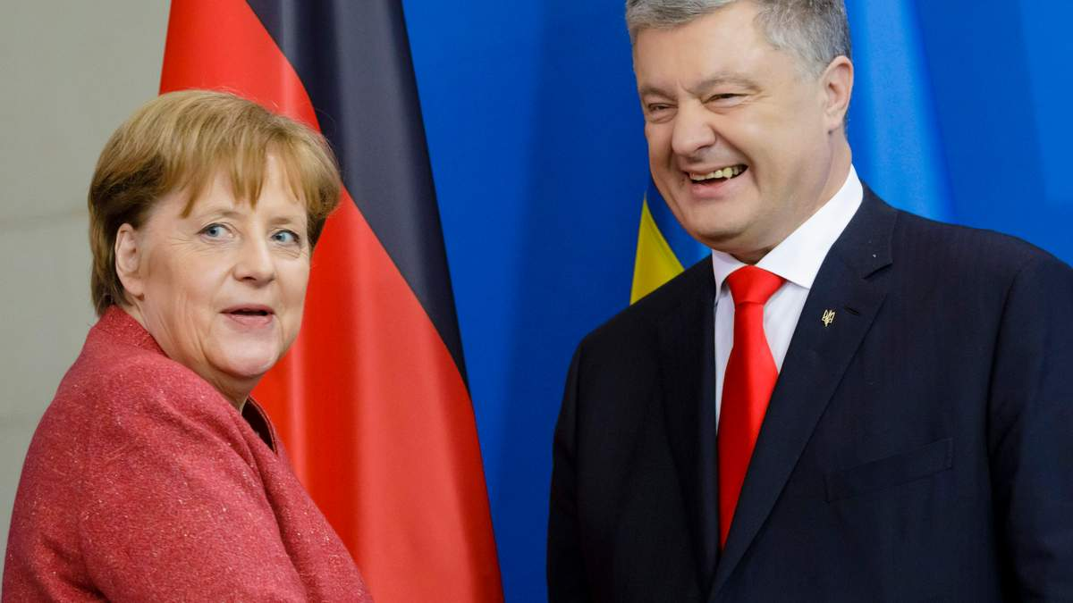 Зустріч Меркель з Порошенком