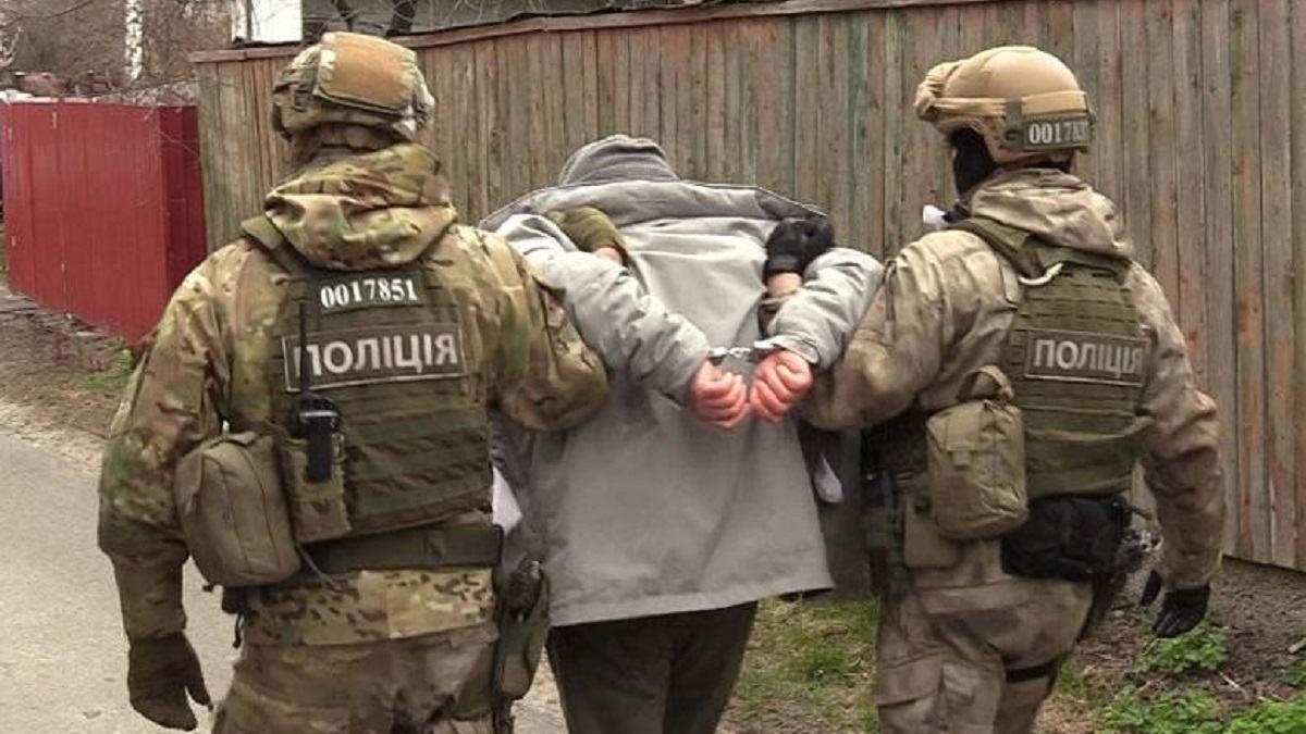 Затримання підозрюваних у вбивстві Кисельова