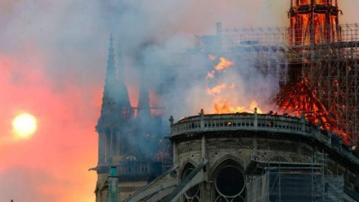 Удар для целой нации: как реагируют мировые политики на пожар в Нотр-Даме