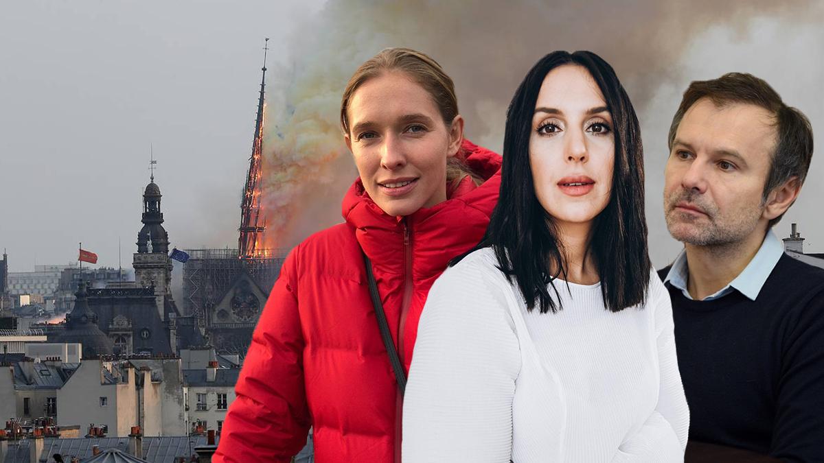 Пожар в Нотр-Даме: реакция украинских звезд