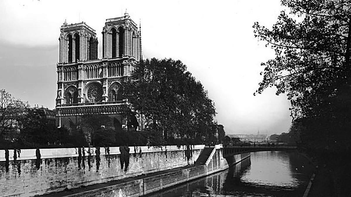 Нотр-Дам де Пари, приблизительно 1900 г.