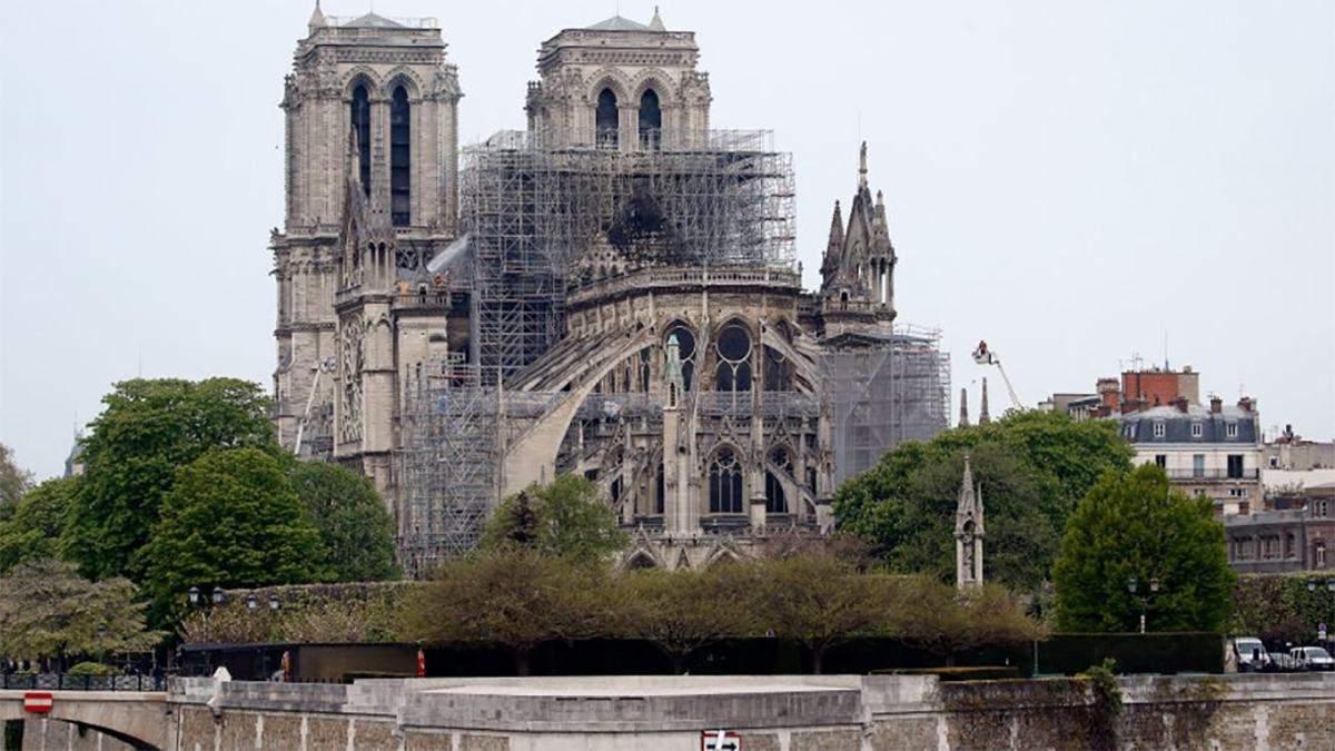 За сколько времени будет восстановлен собор Парижской Богоматери