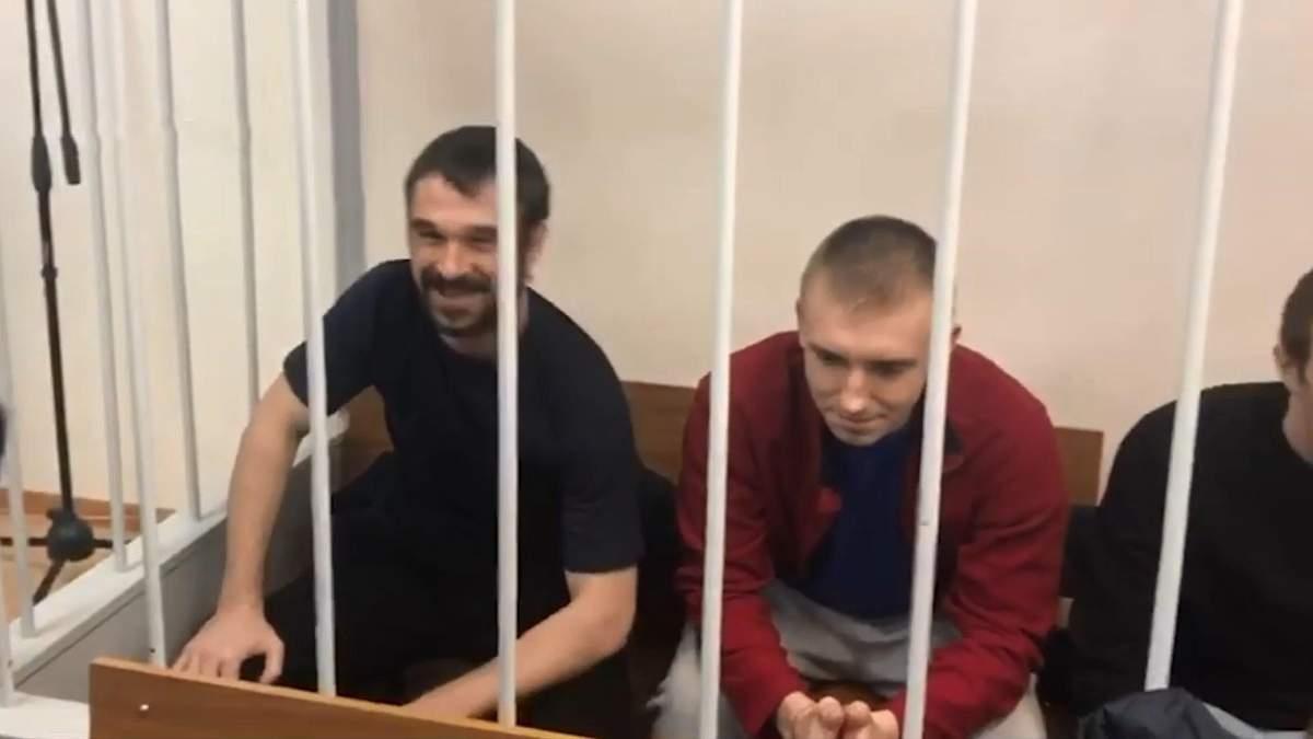Усміхаються і не втрачають оптимізму: у Москві триває суд над українськими моряками - 17 квітня 2019 - Телеканал новин 24