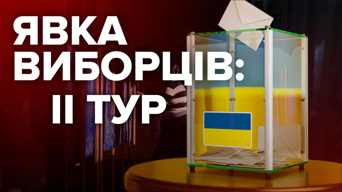 Явка виборців 21 квітня 2019 - вибори 2019 другий тур в Україні