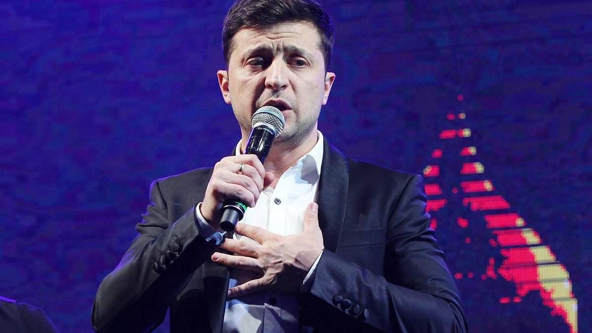 Зеленський про декомунізацію і Бандеру - інтерв'ю кандидата у президенти України 2019