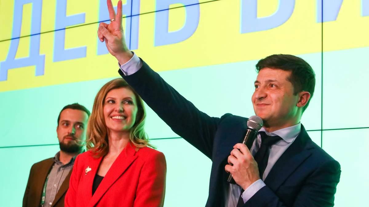 Зеленський про перемогу у виборах 2019 - результати екзит-полу