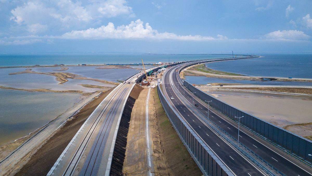 Оккупанты в Крыму анонсировали первый поезд в России