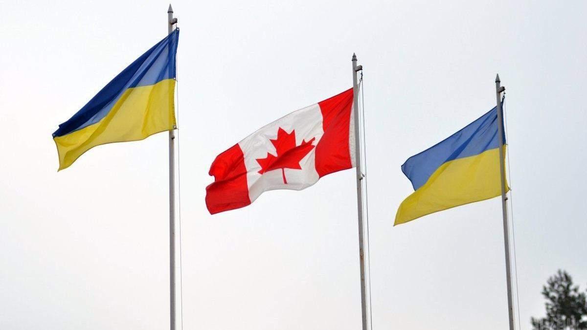 Канадские наблюдатели отправились в Украину президента.