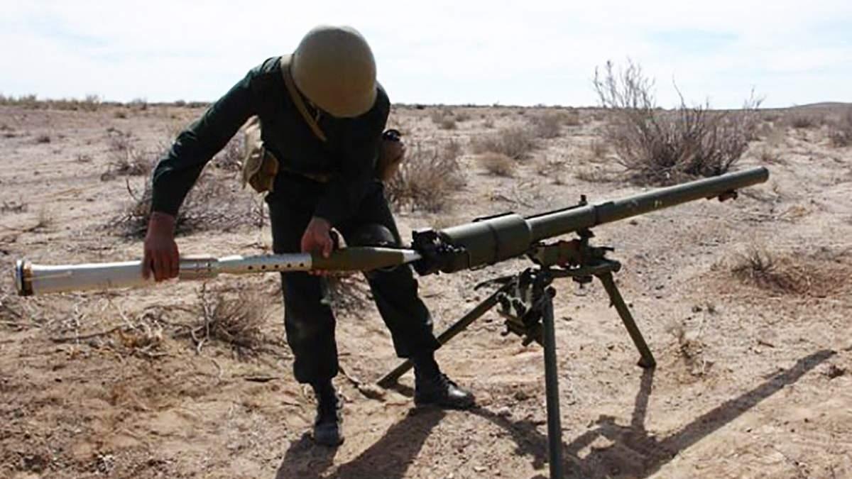 Боевики из гранатомета обстреляли школу в Золотом-5