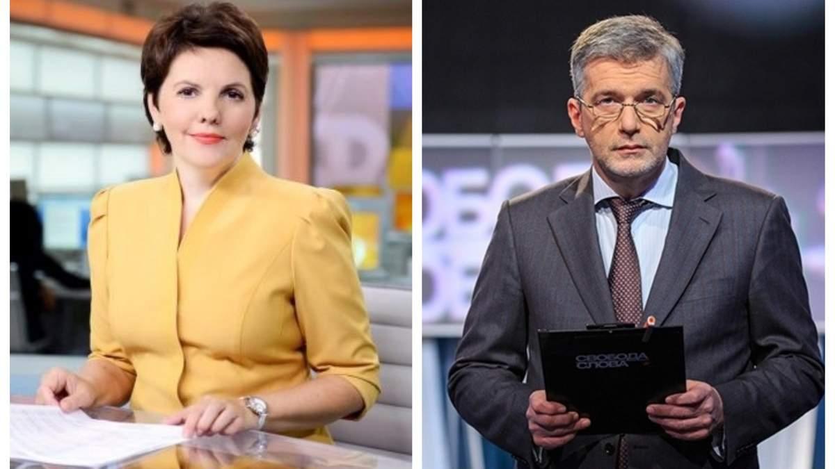"""Ведучі дебатів на """"Олімпійському"""" Фроляк та Куликов"""