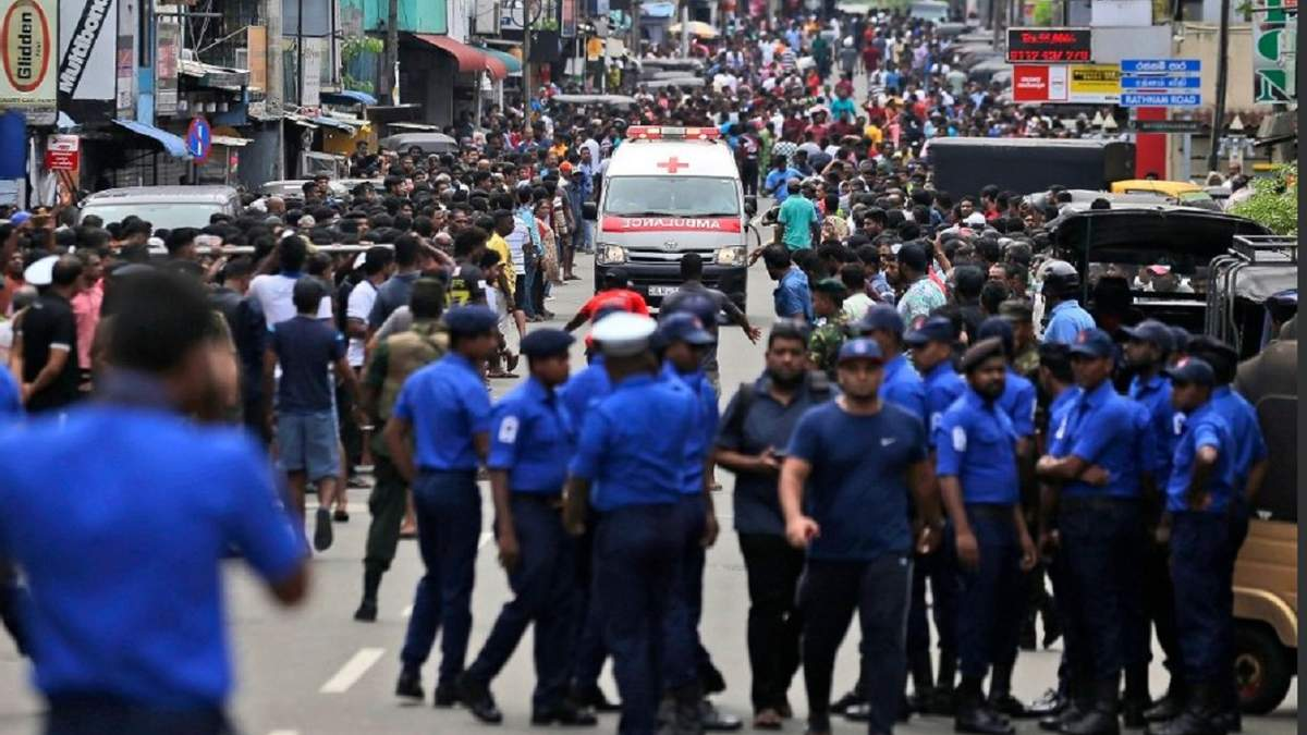 Теракт в Шрі-Ланці 21.04.2019 - відео та фото