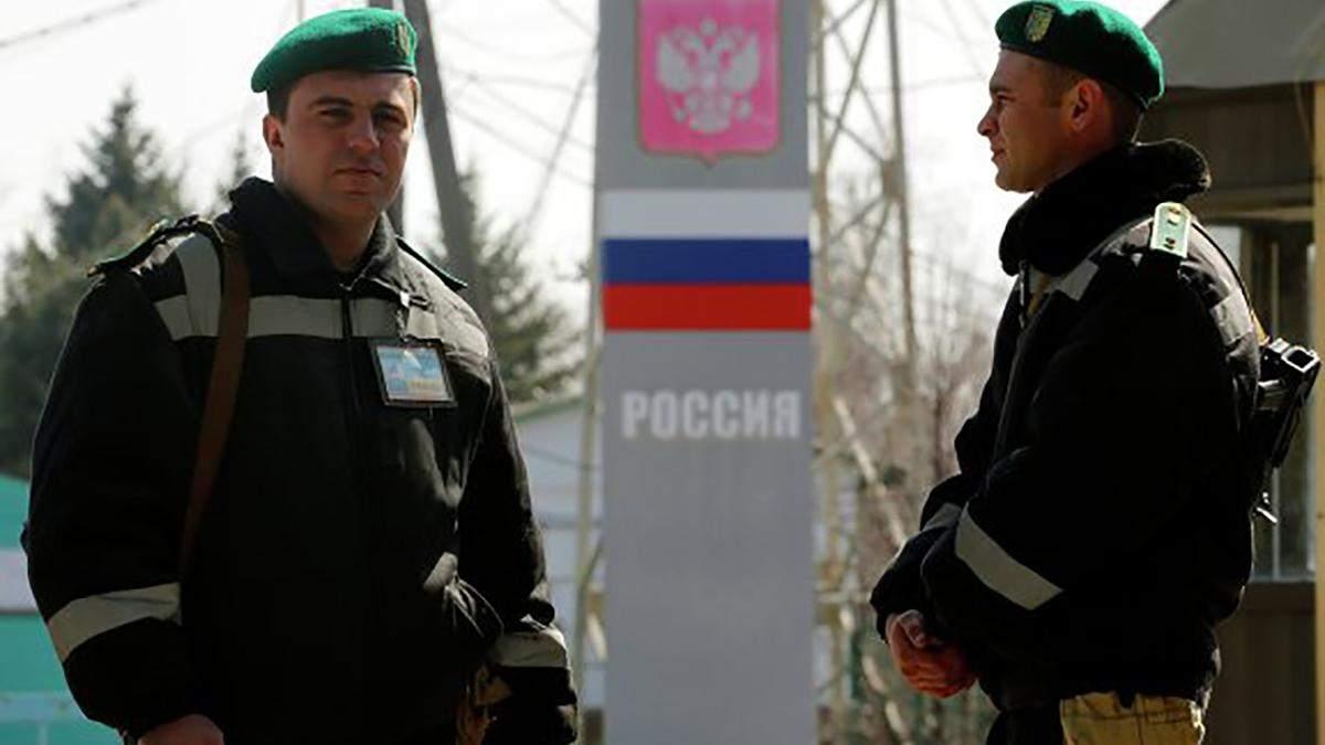 Ситуация на границе с Крымом в день выборов президента Украины 21 апреля