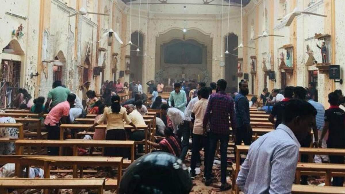 Число погибших в результате серии терактов в Шри-Ланке увеличилось до 290 человек