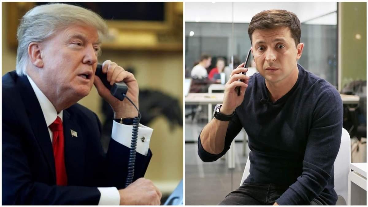 Дональд Трамп і Володимир Зеленський мали телефонну розмову
