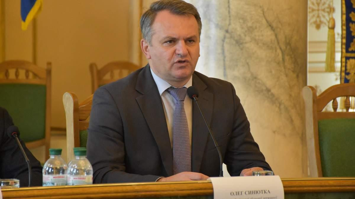 Очільник Львівської ОДА Синютка подав у відставку після перемоги Зеленського