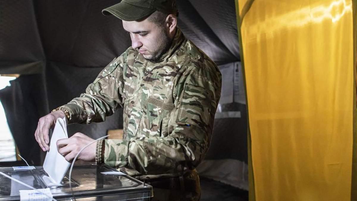 Порошенко чи Зеленський: за кого проголосували військові на Донбасі