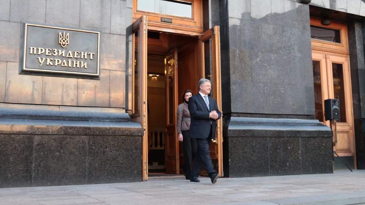 Петро Порошенко пообіцяв повернутися на Банкову через рік